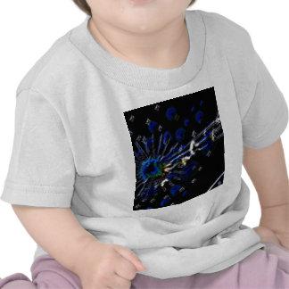 Productos de la nota del pavo real camiseta