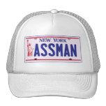 Productos de la placa de Assman Nueva York Gorro De Camionero