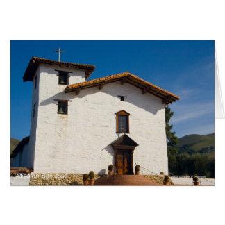 Productos de San José California de la misión Tarjeta De Felicitación