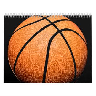 Productos del baloncesto calendario de pared