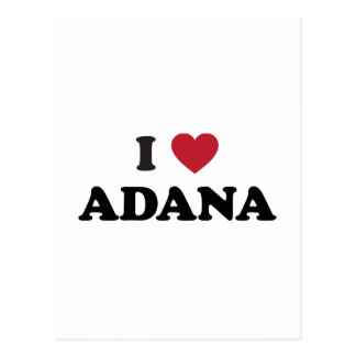 Productos del corazón de Adana Turquía I Postal
