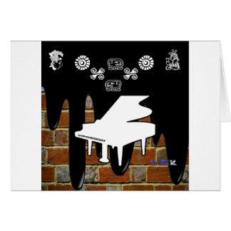 PRODUCTOS DEL FONDO DEL LADRILLO DEL PIANO FELICITACIONES