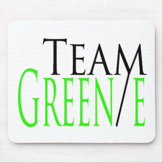 Productos del funcionario del equipo Green/e Alfombrilla De Ratón