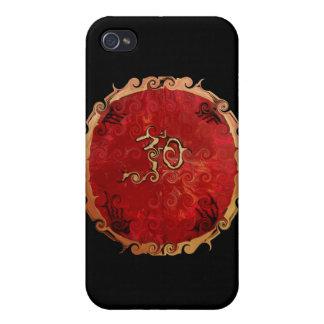 Productos del ohmio iPhone 4 fundas