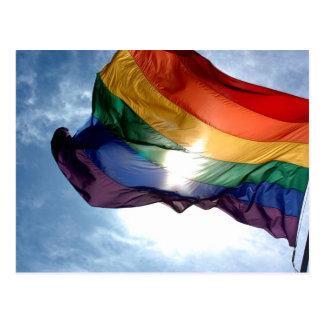 Productos del orgullo gay postal
