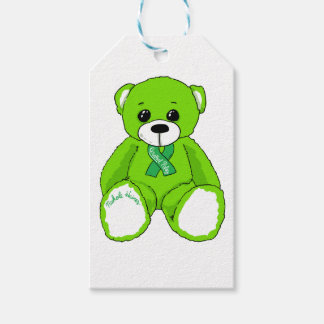 Productos del oso de peluche de la conciencia de etiquetas para regalos