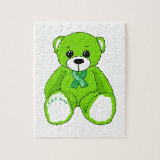 Productos del oso de peluche de la conciencia de puzzle