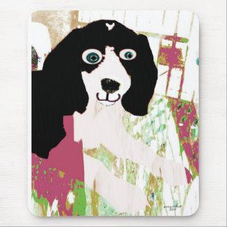 Productos del perrito del beagle alfombrilla de ratón
