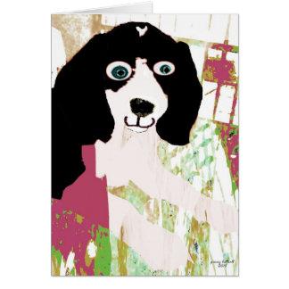 Productos del perrito del beagle tarjeta