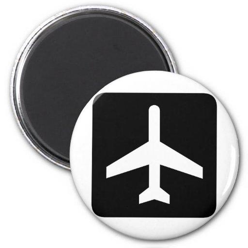 ¡Productos frescos del avión! Imán Para Frigorifico