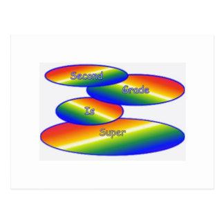 Productos que destacan el segundo grado tarjetas postales