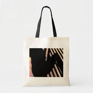 Productos sombreados del múltiplo de la personalid bolsas lienzo
