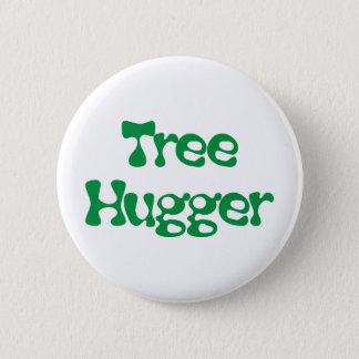 ¡Productos y diseños de Hugger del árbol! Chapa Redonda De 5 Cm