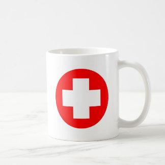 ¡Productos y diseños de la Cruz Roja! Taza De Café