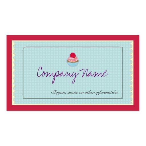 Profesional clásico, elegante, dulce, artesano plantilla de tarjeta de visita
