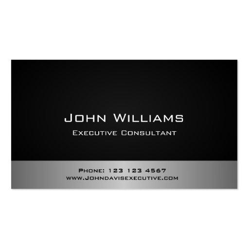 Profesional consultor legal derecho administrador plantillas de tarjeta de negocio