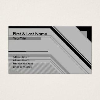 profesional de alta tecnología tarjeta de negocios
