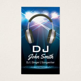 Profesional de DJ Tarjeta De Negocios