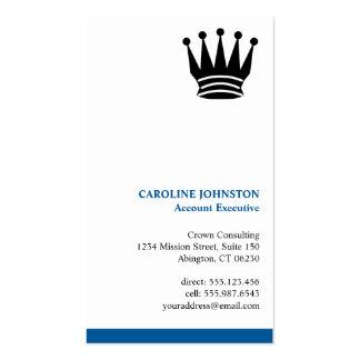 Profesional de encargo ejecutivo del logotipo de tarjetas de visita