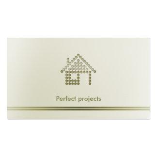 Profesional del arquitecto el   tarjetas de visita