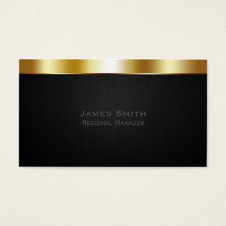 Profesional del oro tarjeta de negocios