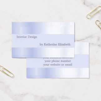 Profesional elegante mínimo de la mirada del satén tarjeta de visita