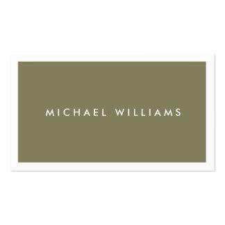 Profesional elegante nuevo simple mínimo tarjetas de visita