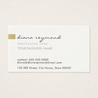 profesional llano y básico agradable tarjeta de negocios