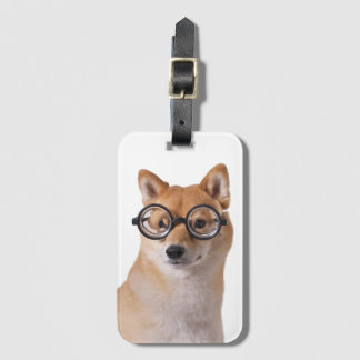Profesor Barkley - etiqueta del equipaje con la