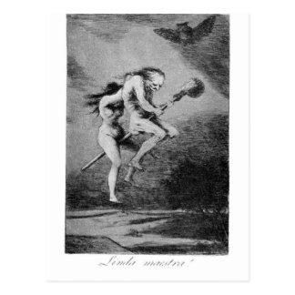 Profesor bonito de Francisco Goya Postal