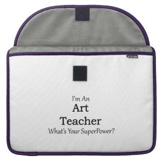 Profesor de arte fundas para macbooks