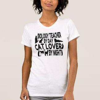 Profesor de biología del amante del gato camisas