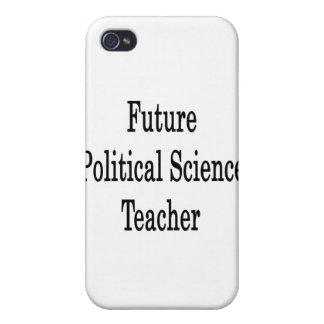 Profesor de ciencias político futuro iPhone 4/4S carcasas