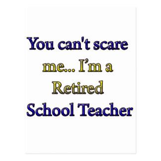 Profesor de escuela jubilado postales