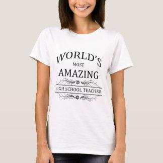 Profesor de escuela más asombroso del mundo el camiseta