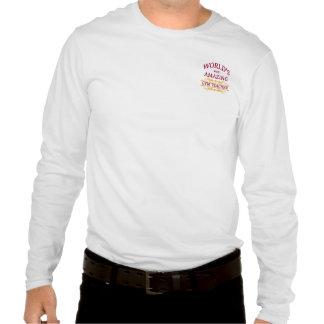 Profesor de gimnasio camiseta