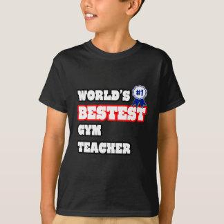 Profesor de gimnasio de Bestest del mundo Camiseta