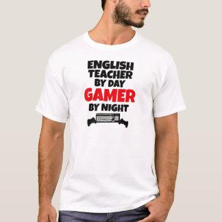 Profesor de inglés por videojugador del día por camiseta