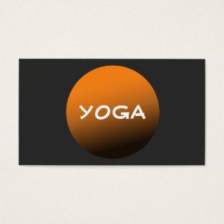 Profesor de la yoga y de la meditación de la tarjeta de negocios