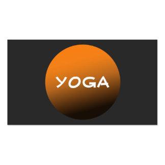 Profesor de la yoga y de la meditación de la tarjetas de visita