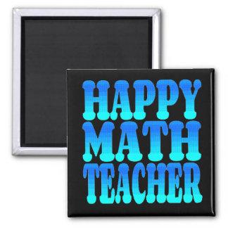 Profesor de matemáticas feliz