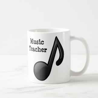 Profesor de música taza de café