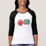 Profesor del búho en la camisa personalizada pizar