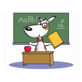 Profesor del perro postal
