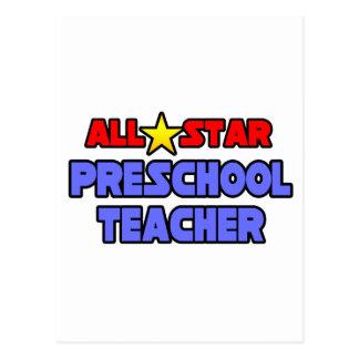 Profesor del preescolar de All Star Tarjeta Postal