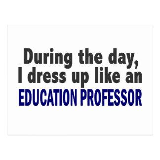 Profesor During The Day de la educación Postal