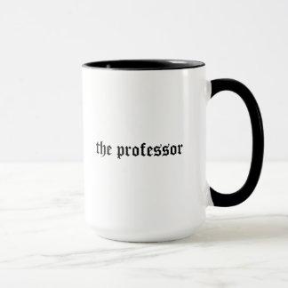 Profesor fresco, taza nerviosa del regalo