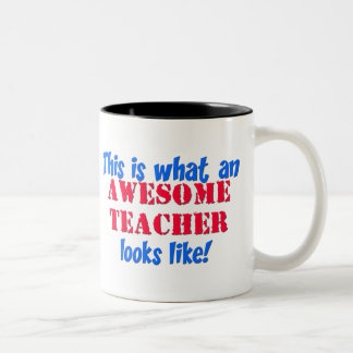 Profesor impresionante tazas