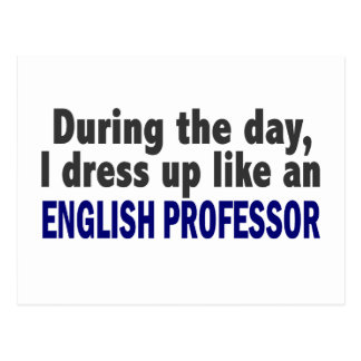 Profesor inglés During The Day Postal