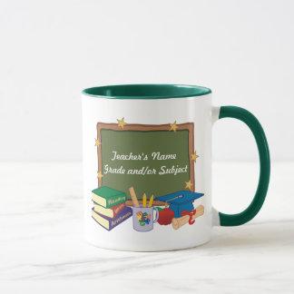 Profesor personalizado taza